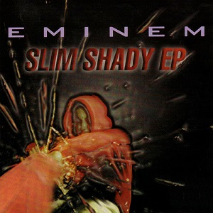 MP3 ALBUMS: EMINEM LOVERS HERE WE GO! Eminem_-_The_Slim_Shady_EP_CD_cover