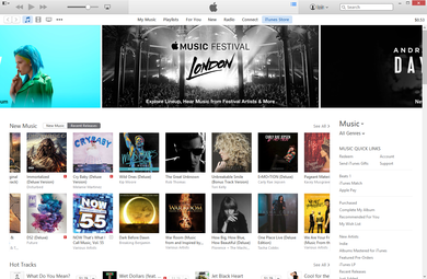 apples itunes store