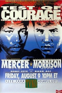 Ray Mercer vs. Tommy Morrison Boxing competition
