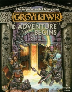 <i>Greyhawk: The Adventure Begins</i> book by Roger E. Moore