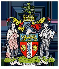 Rowley Regis Municipal Borough Coat of Arms.png