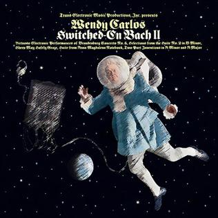 <i>Switched-On Bach II</i> album by Wendy Carlos