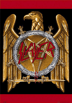 Graphic used by the band in the 1990s Slayer eagle.png