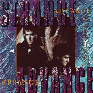 <i>The Distance Between</i> 1988 studio album by Strange Advance