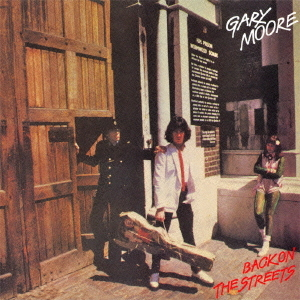 "Cover of 1979 Gary Moore album ""Back On The Streets"""