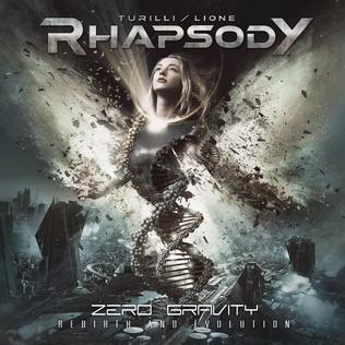 <i>Zero Gravity (Rebirth and Evolution)</i> 2019 studio album by Turilli / Lione Rhapsody