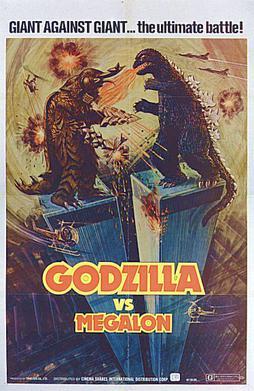 Bad Movie, Great Poster Godzilla-megalon-us