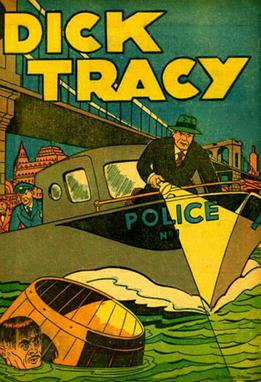 Dick Tracy comic strip. Started in 1931