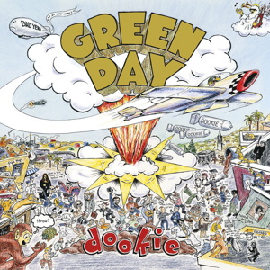 Green Day Dookie Converse Shoes