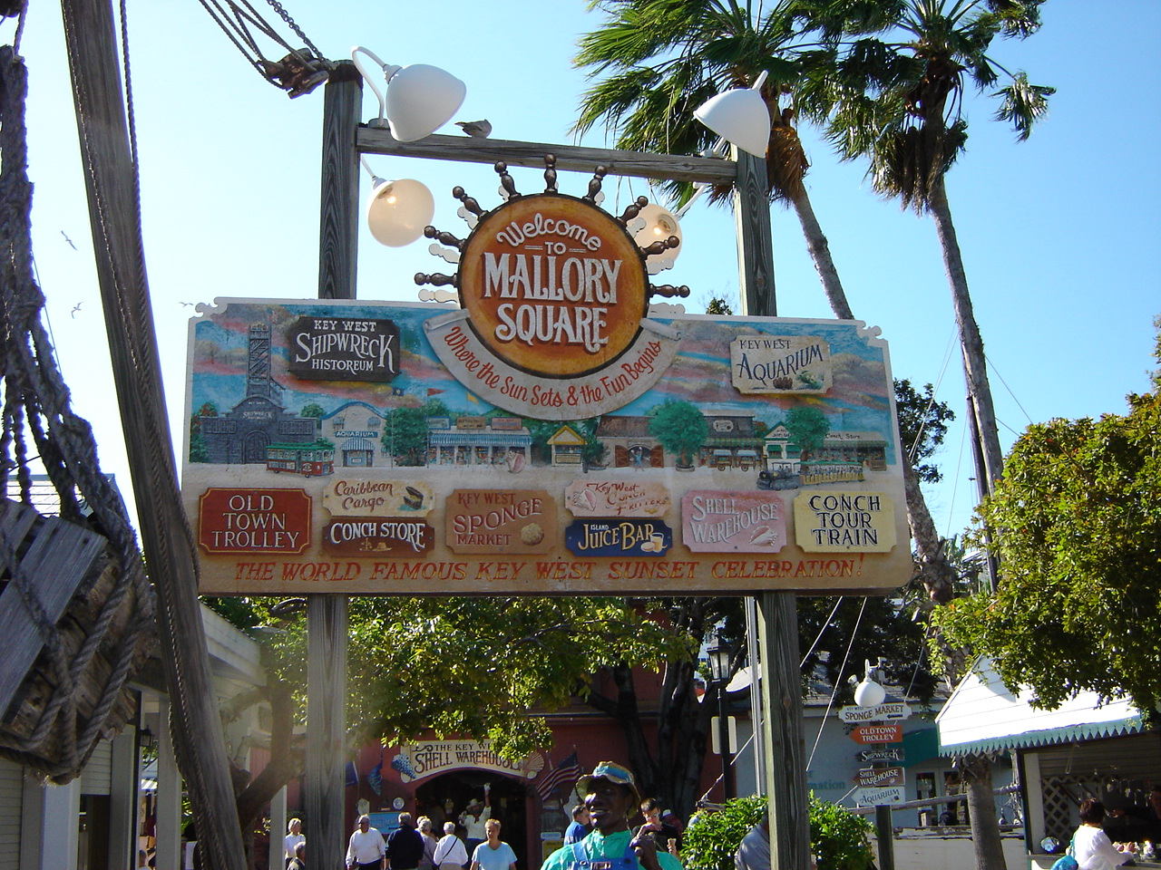Image result for mallory square in key west