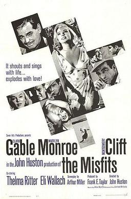 The Misfits (1961) movie poster