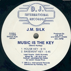J.M. Silk — Music Is the Key (studio acapella)