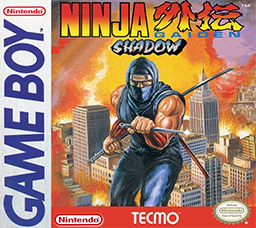 The Box art for Ninja Gaiden Shadow, courtacy of Wikipedia.