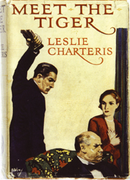 <i>Meet the Tiger</i> novel by Leslie Charteris