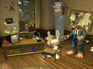 Image result for sam and max save the world images