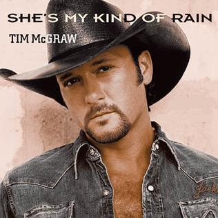 Shes My Kind of Rain 2003 single by Tim McGraw