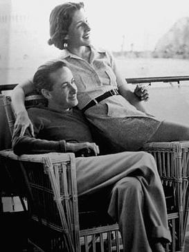 With wife actress Norma Shearer, July 1936 Thalberg-Shearer.jpg