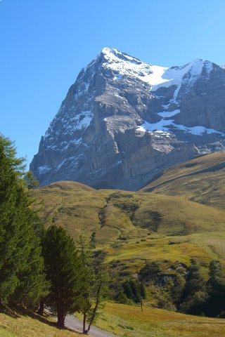 The Eiger In Summer