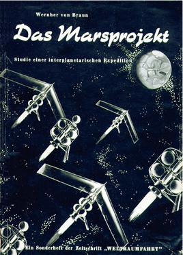 Wernher von Braun, Edición alemana de