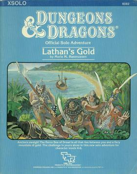 Cover of XSOLO Lathan's Gold