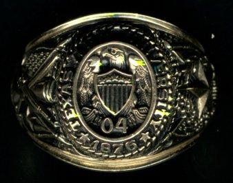 Bear Class Ring K Gold Womens