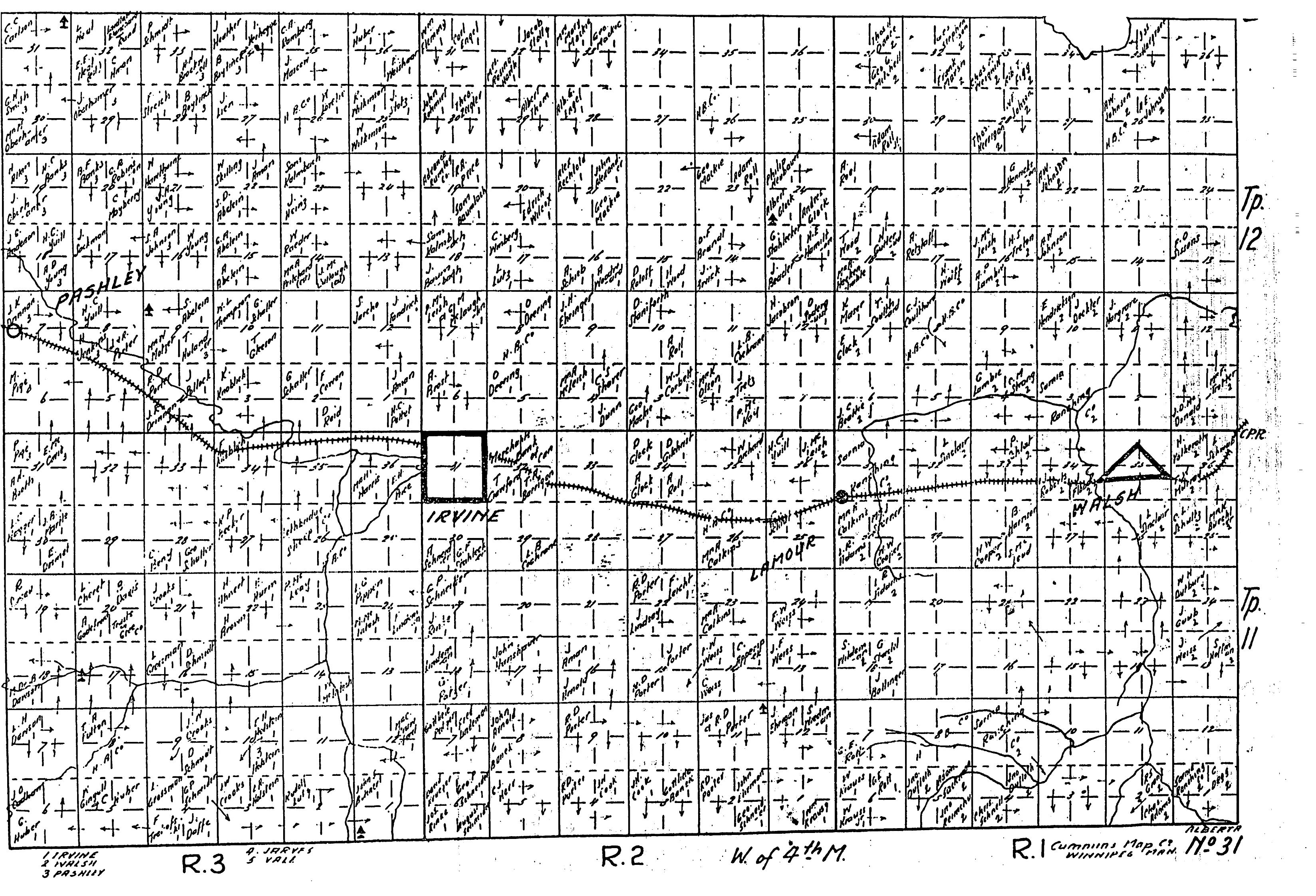 FileAlbertaHomesteadMap1918 t1112 r13 map31png Wikipedia