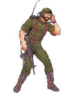 GI Joe Weapon Breaker Backpack From Battle Gear 1983 Original Figure Accessory