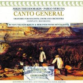 <i>Canto General</i> (1975 album) Live album by Mikis Theodorakis