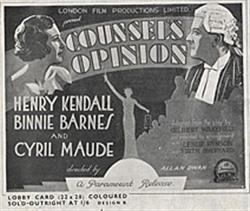 <i>Counsels Opinion</i> 1933 film