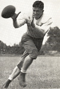 A picture of Gaylon Smith while he was at Rhodes College in 1936