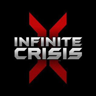 Official poster of Infinite Crisis game featuring Batman launched in 2015.