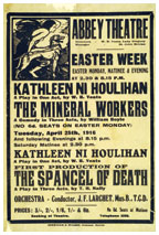 Kathleen Ni Houlihan, Ireland personified and Irish Nationalism.