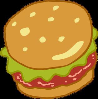 Krabby Patty Fictional hamburger in the animated series SpongeBob SquarePants