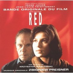 <i>Three Colors: Red</i> (soundtrack) 1994 film score by Zbigniew Preisner