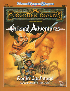 Cover of OA6 Ronin Challenge