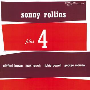 <i>Sonny Rollins Plus 4</i> 1956 studio album by Sonny Rollins