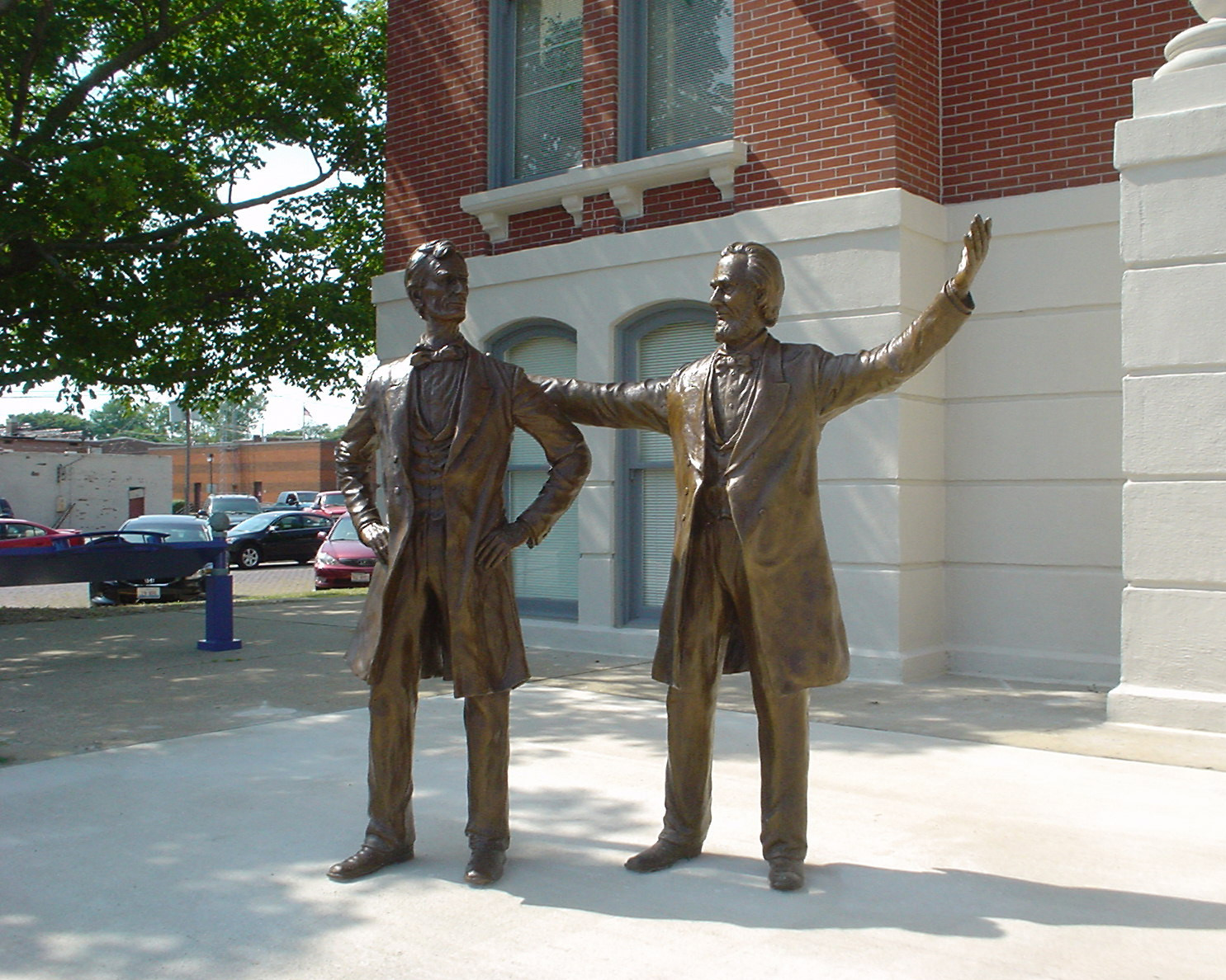 File Statue Of Abraham Lincoln Shelbyville Il Jpg