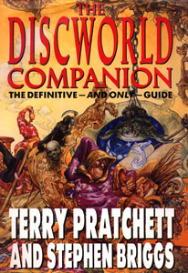 <i>The Discworld Companion</i> book by Terry Pratchett