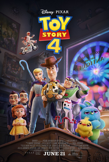 Toy Story 4 2019 US Animation Josh Cooley Tom Hanks Tim Allen Annie Potts  Animation, Adventure, Comedy