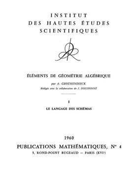Elements of algebraic geometry