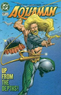 The 1990s version of Aquaman. Aquaman (vol. 5)...