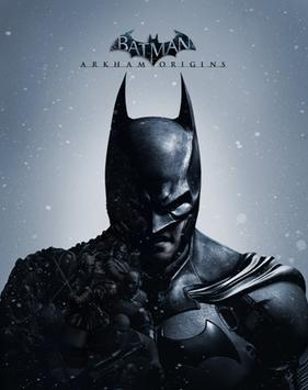 Official poster of Batman: Arkham Origins game launched in 2013.
