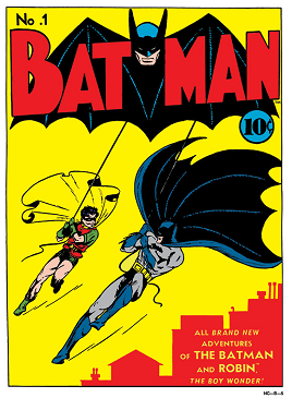 When was the first dc comic book published