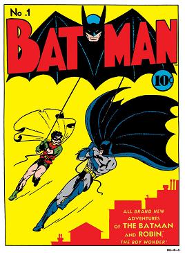 Betmen BatmanComicIssue1,1940