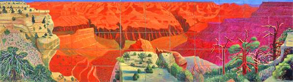 A Bigger Grand Canyon, 1998, National Gallery of Australia.