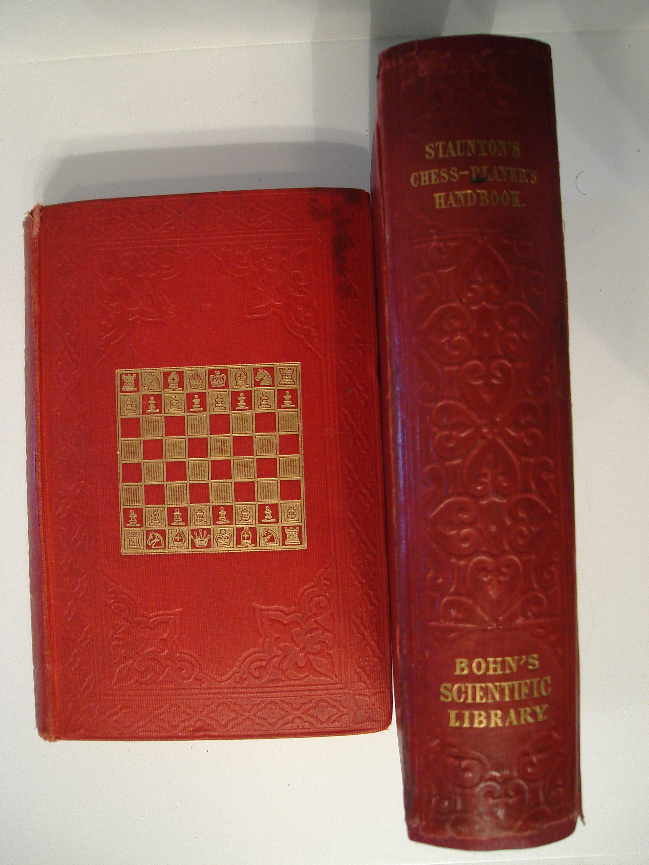 Chess Player's Handbook, The Howard Staunton