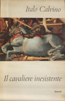 the search for true identity in the novel the nonexistent knight by italo calvino The nonexistent knight is an allegorical fantasy novel by italian writer italo calvino, first published in italian in 1959 and in english translation in 1962 the tale explores questions of identity, integration with society, and virtue through the adventures of agilulf, a medieval knight who exemplifies chivalry, piety, and faithfulness but exists only as an empty suit of armour.