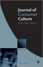 <i>Journal of Consumer Culture</i> journal