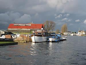 River Thurne river in the United Kingdom