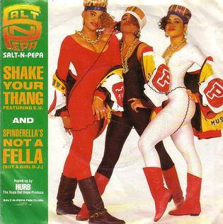Shake Your Thang 1988 single by Salt-N-Pepa featuring E.U.